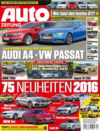 Auto Zeitung NR.24 2015