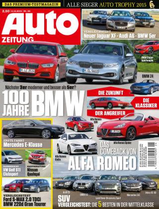 Auto Zeitung NR.26 2015