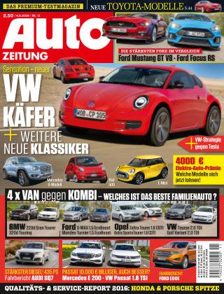 Auto Zeitung NR.11 2016