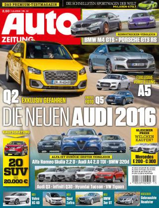 Auto Zeitung NR.13 2016