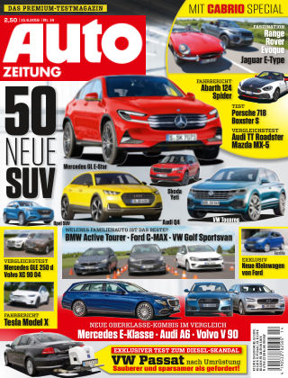 Auto Zeitung NR.14 2016