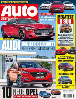 Auto Zeitung NR.17 2016