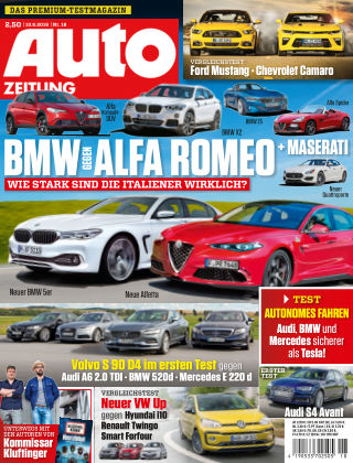 Auto Zeitung NR.18 2016