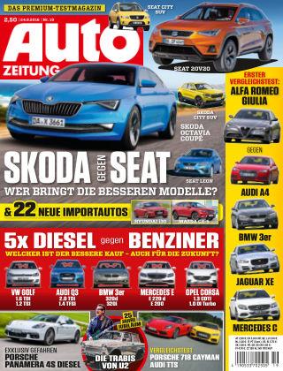 Auto Zeitung NR.19 2016