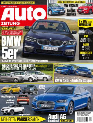 Auto Zeitung NR.20 2016