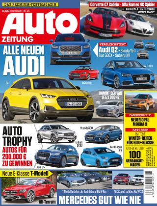 Auto Zeitung NR.21 2016