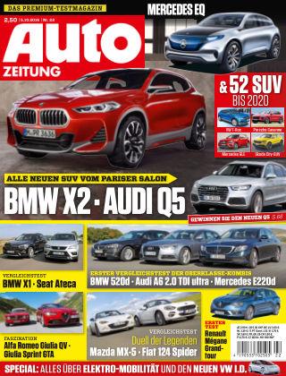 Auto Zeitung NR.22 2016