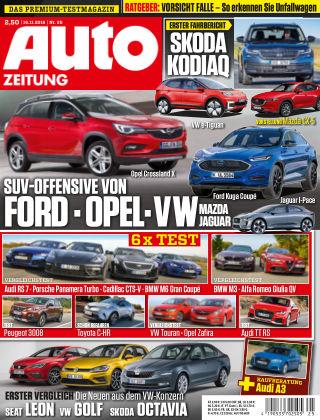 Auto Zeitung NR.25  2016
