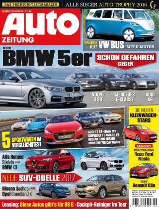Auto Zeitung NR.26 2016