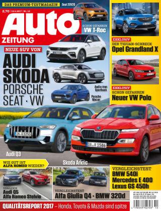 Auto Zeitung NR.10 2017