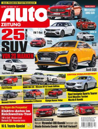 Auto Zeitung NR.17 2017