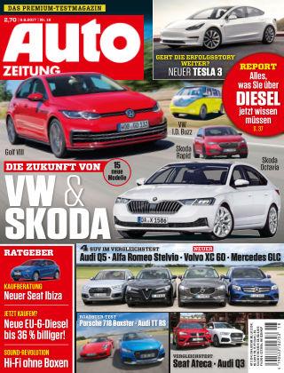 Auto Zeitung NR.18 2017