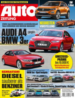 Auto Zeitung NR.19 2017