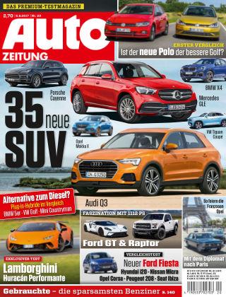 Auto Zeitung NR.20 2017