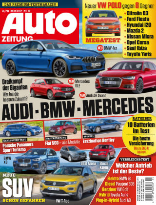 Auto Zeitung NR.23 2017