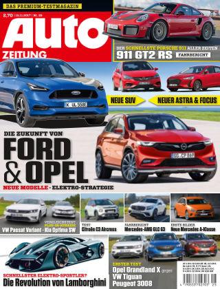 Auto Zeitung NR.25 2017