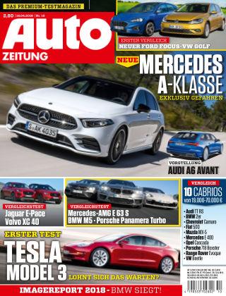 Auto Zeitung NR.10 2018