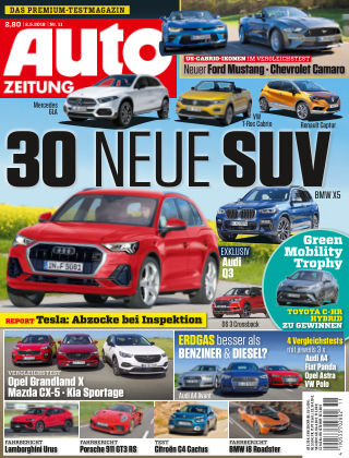 Auto Zeitung NR.11 2018