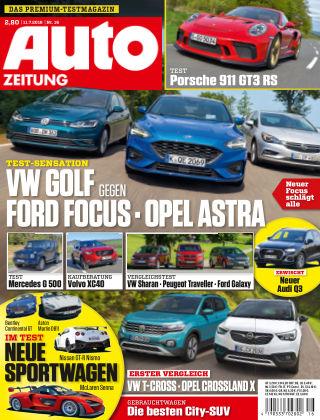 Auto Zeitung NR.16 2018