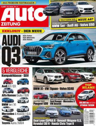 Auto Zeitung NR.17 2018