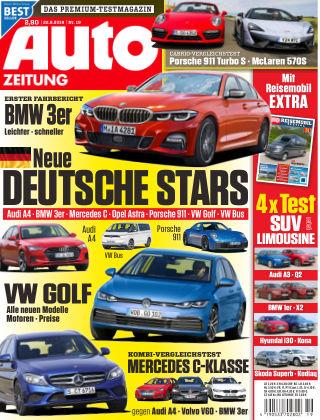 Auto Zeitung NR.19 2018