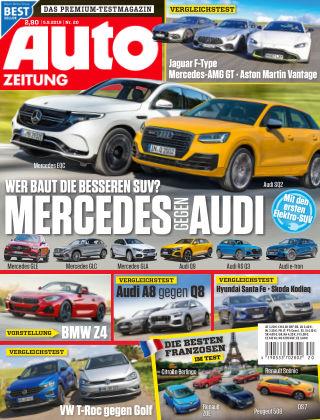 Auto Zeitung NR.20 2018