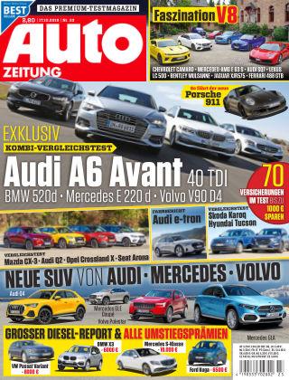 Auto Zeitung NR.23 2018
