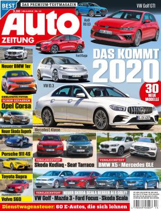 Auto Zeitung NR.13 2019
