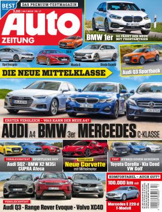 Auto Zeitung NR.17 2019