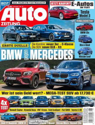 Auto Zeitung NR.18 2019