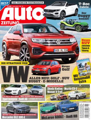 Auto Zeitung NR.19 2019