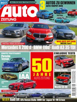 Auto Zeitung NR.21 2019