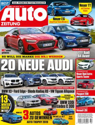 Auto Zeitung NR.22 2019