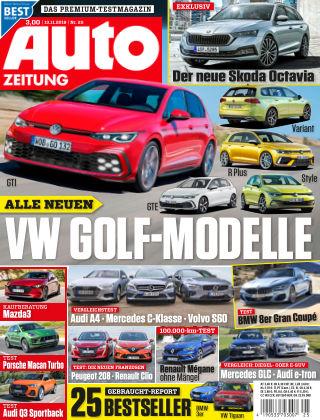 Auto Zeitung NR.25 2019