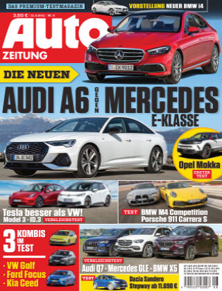 Auto Zeitung NR.08 2021