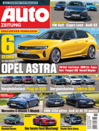 Auto Zeitung NR.14 2021