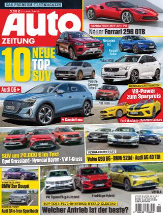 Auto Zeitung NR.15 2021