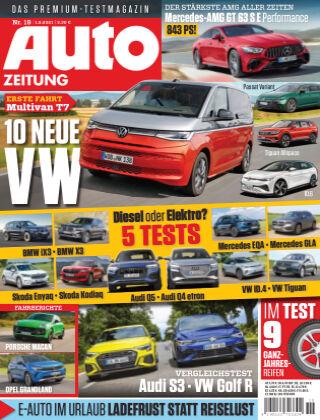 Auto Zeitung NR.19 2021