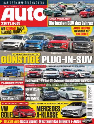 Auto Zeitung NR.22 2021