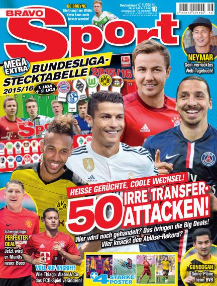Bravo Sport July 16, 2015 00:00