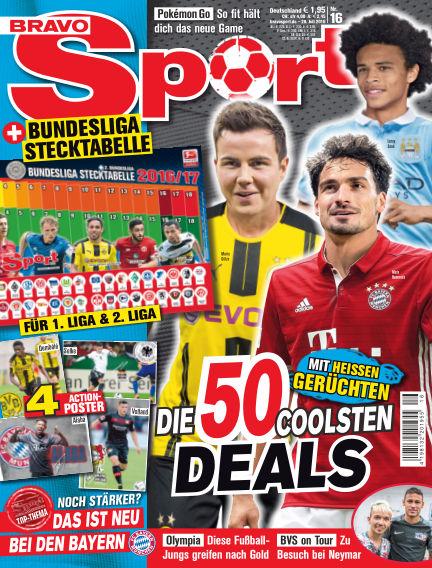 Bravo Sport July 28, 2016 00:00