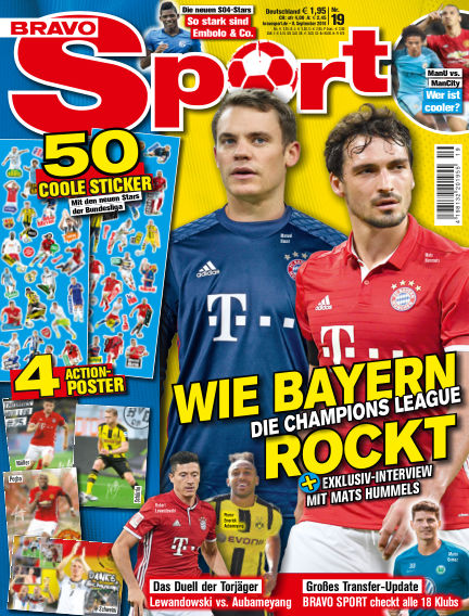 Bravo Sport September 08, 2016 00:00