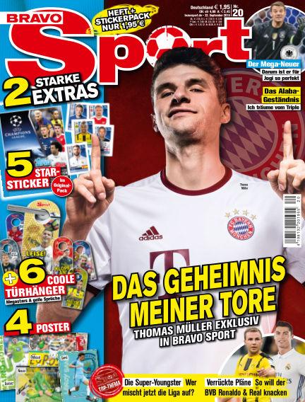 Bravo Sport September 22, 2016 00:00