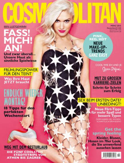 Cosmopolitan - DE February 12, 2015 00:00