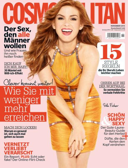 Cosmopolitan - DE October 15, 2015 00:00