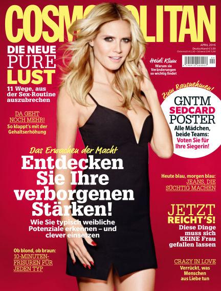 Cosmopolitan - DE March 10, 2016 00:00