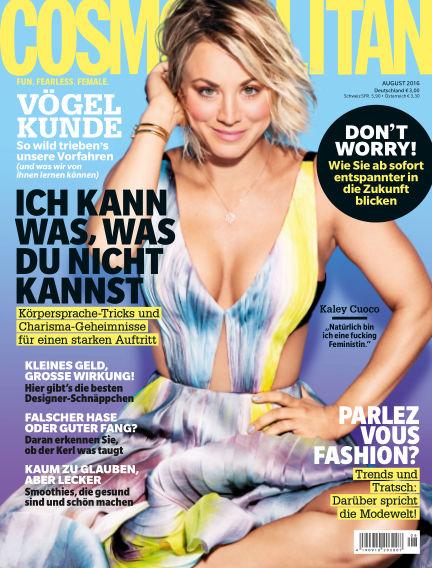 Cosmopolitan - DE July 14, 2016 00:00
