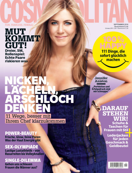 Cosmopolitan - DE August 11, 2016 00:00