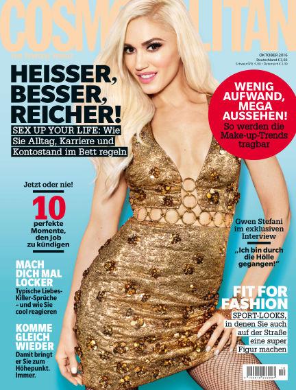 Cosmopolitan - DE September 08, 2016 00:00