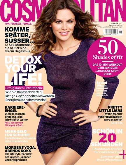 Cosmopolitan - DE January 12, 2017 00:00